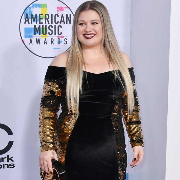 Kelly Clarkson, America Music Awards, 2017