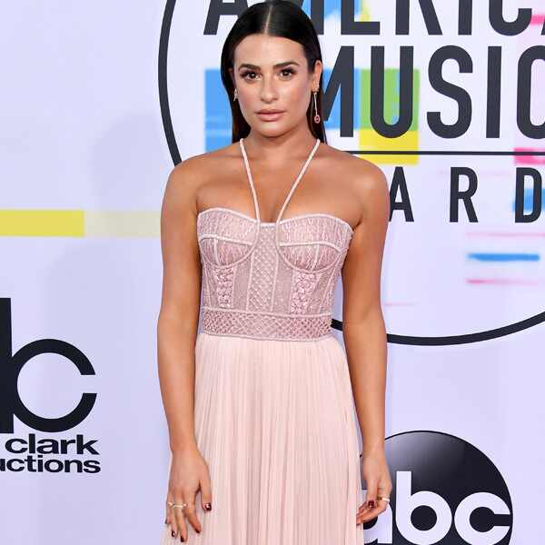 Lea Michele, America Music Awards, 2017