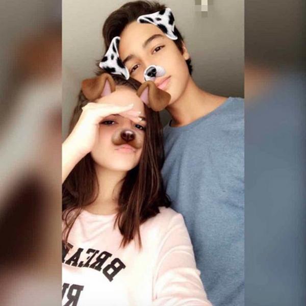 Mel Maia, de 13 anos, se declara para namorado, de 15, em rede social