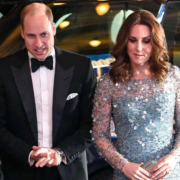 Prince William, Kate Middleton, Royal Variety Performance