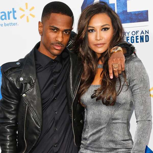 Big Sean. Foto do site da E! Online que mostra Big Sean mandou indireta para Naya Rivera após prisão por violência doméstica?