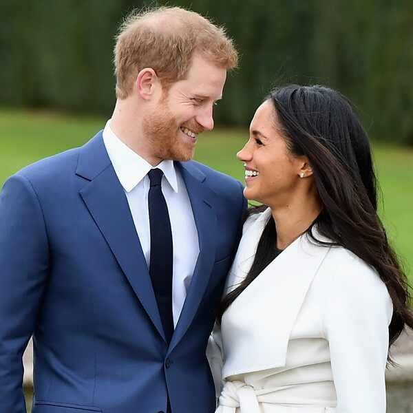 Meghan Markle Flashes Her Engagement Ring From Prince
