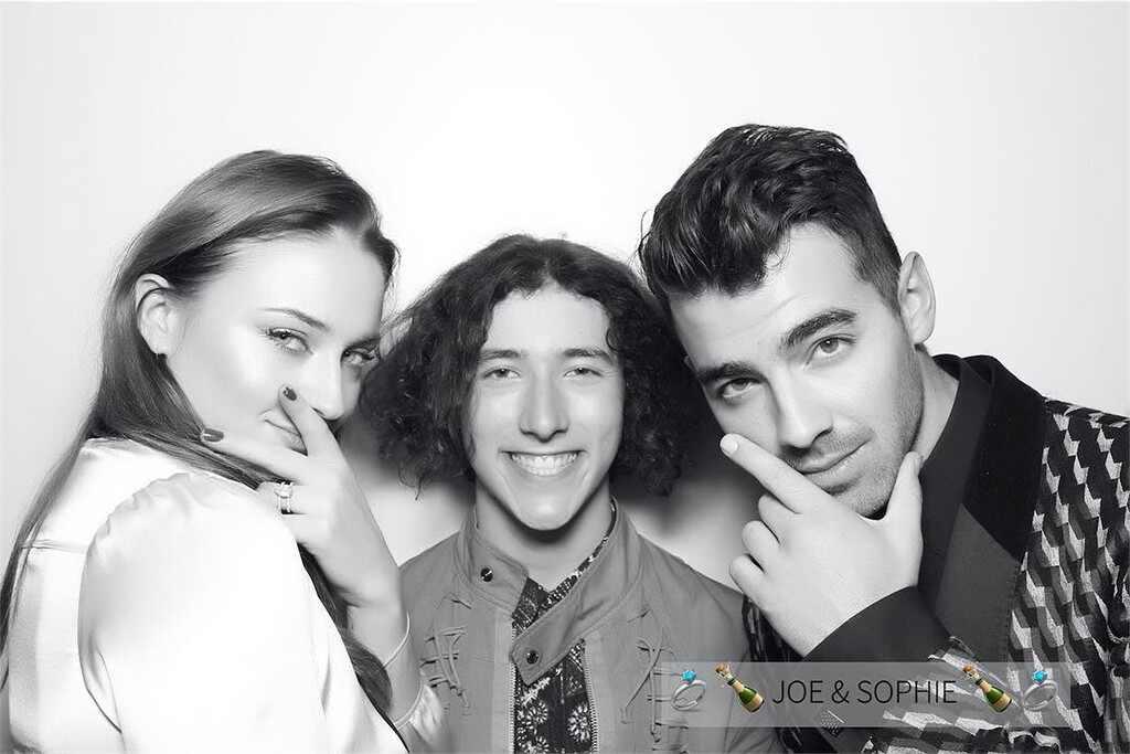 Sophie Turner, Joe Jonas, Frankie Jonas, Engagement Party