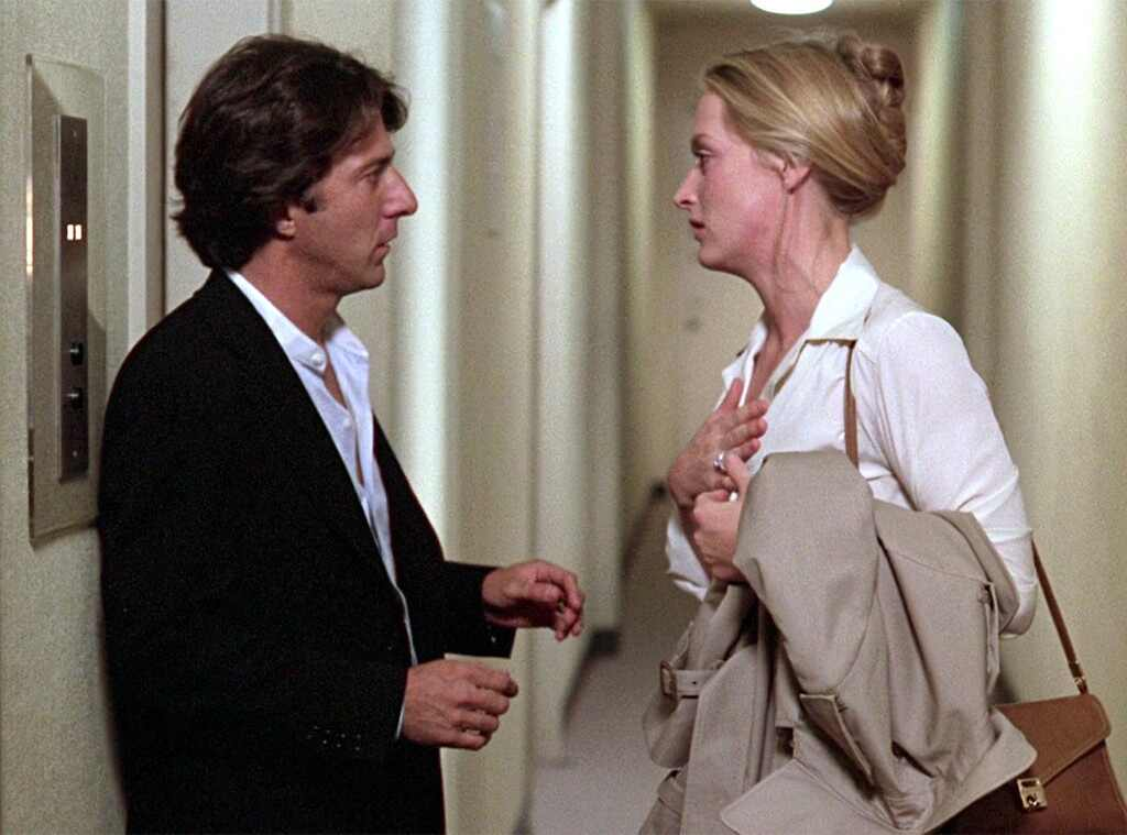 Dustin Hoffman allegedly groped Meryl Streep's breast when they first met
