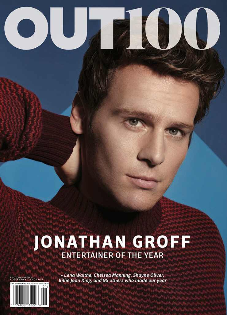 OUT Magazine, Jonathan Groff