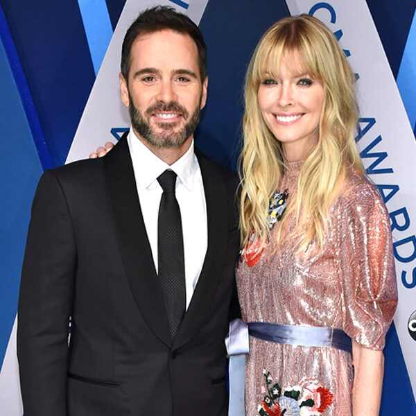 Jimmie Johnson, Chandra Janway Johnson, 2017 CMA Awards, Couples