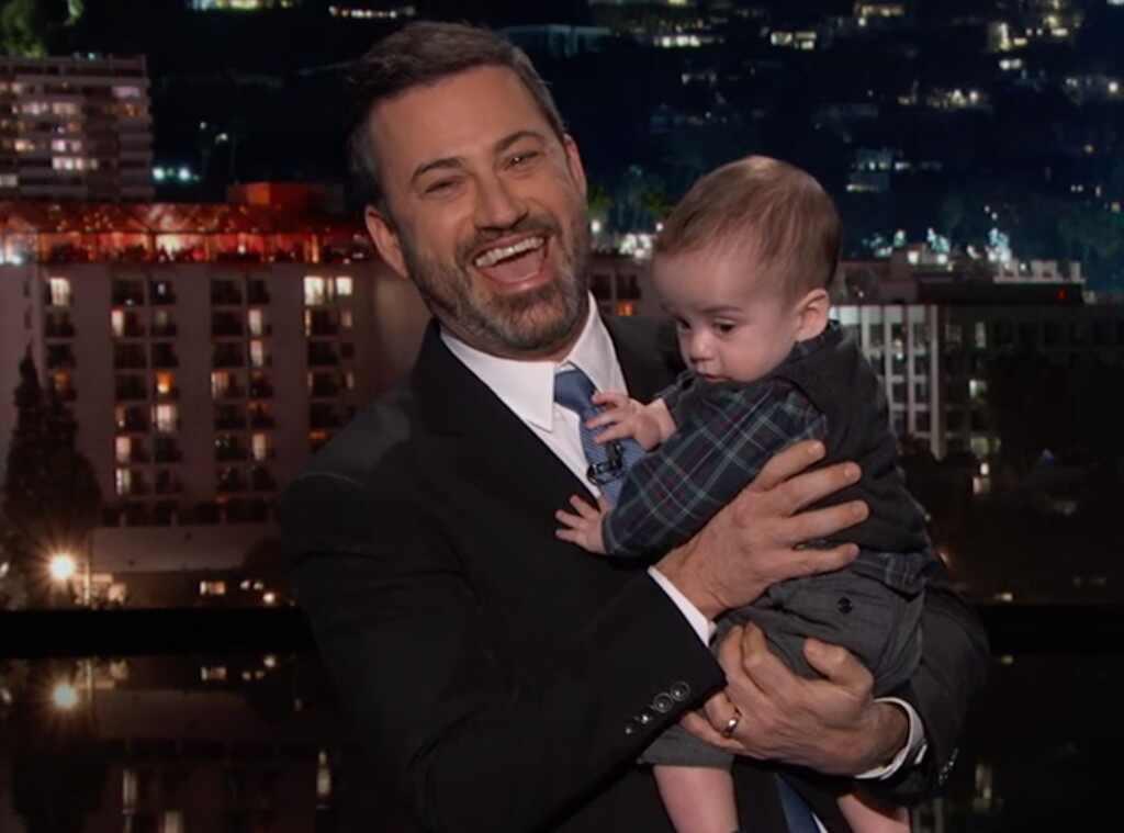 Jimmy Kimmel leva filho que fez cirurgia cardíaca a seu programa