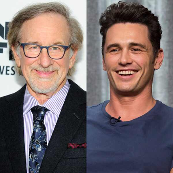 James Franco, Steven Spielberg