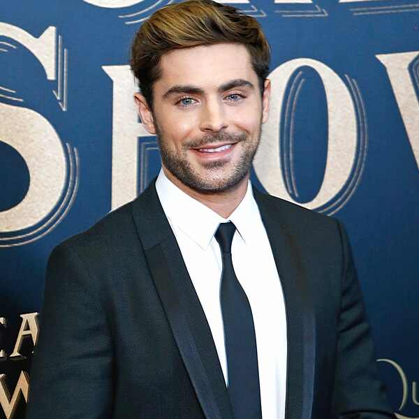 Zac Efron, The Greatest Showman Premiere