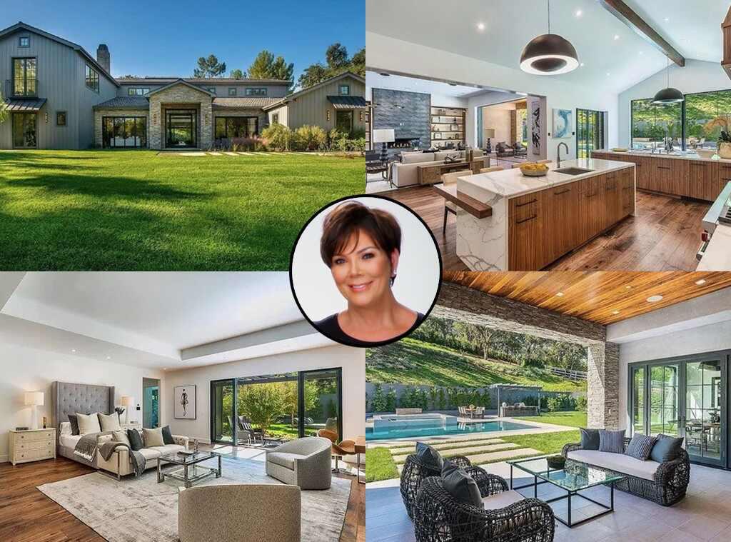 Kris Jenner, Hidden Hills Home