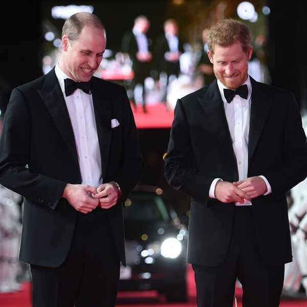 Prince William, Prince Harry, BB-8