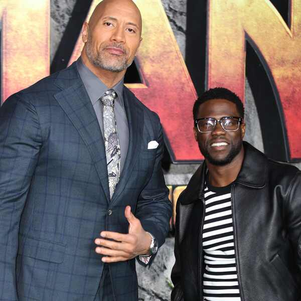 Dwayne Johnson, Kevin Hart, Jumanji: Welcome to the Jungle, premiere