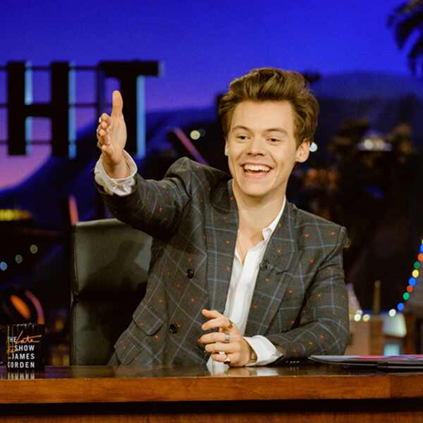 Harry Styles, Late Late Show