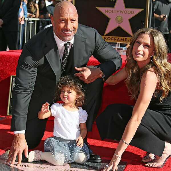 Dwayne Johnson, Lauren Hashian, Jasmine Johnson