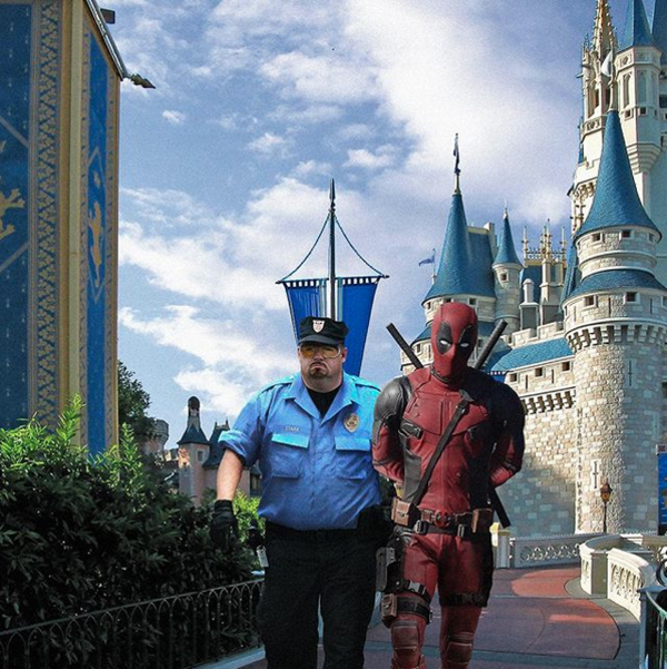 Ryan Reynolds, Deadpool, Disney, Instagram
