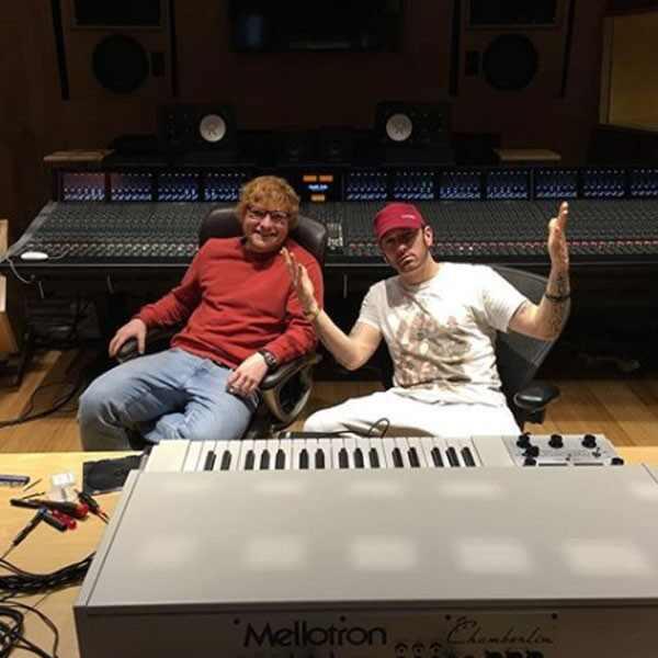 Ed Sheeran, Eminem