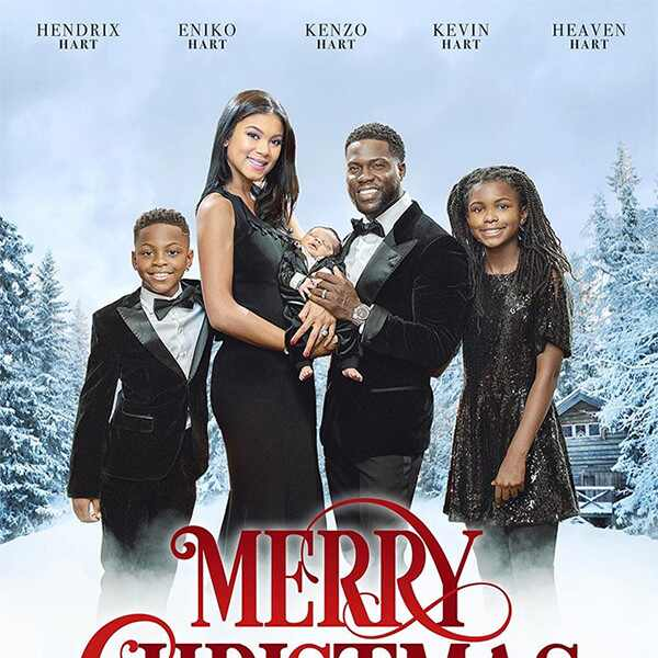 Kevin Hart, Eniko Hart, Son, Kenzo, Baby, Kids, Christmas, Card, 2017