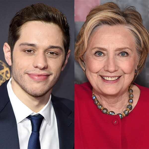 Pete Davidson, Hillary Clinton