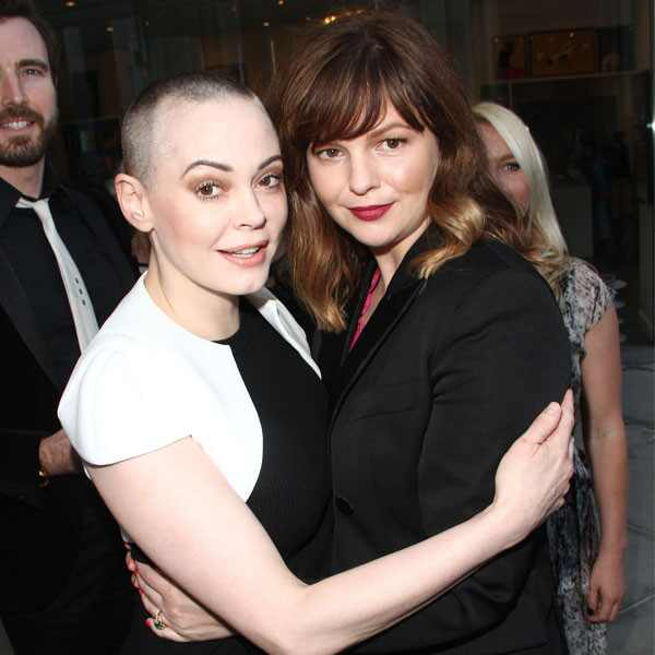 Amber Tamblyn, Rose McGowan