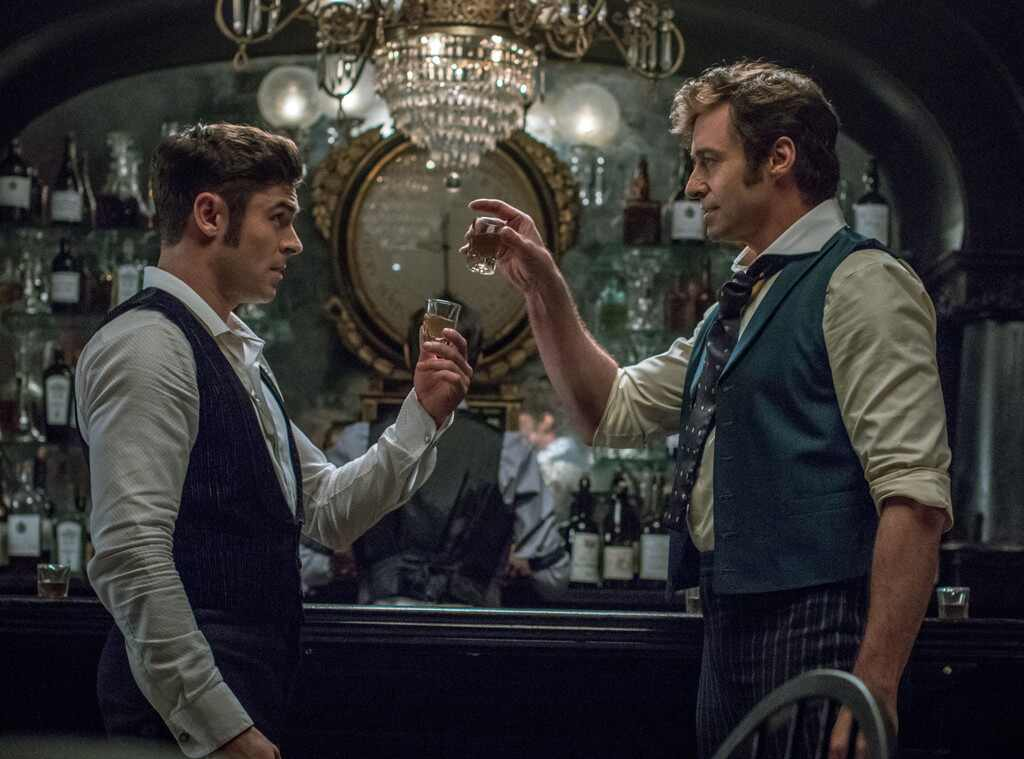 Hugh Jackman, Zac Efron, The Greatest Showman