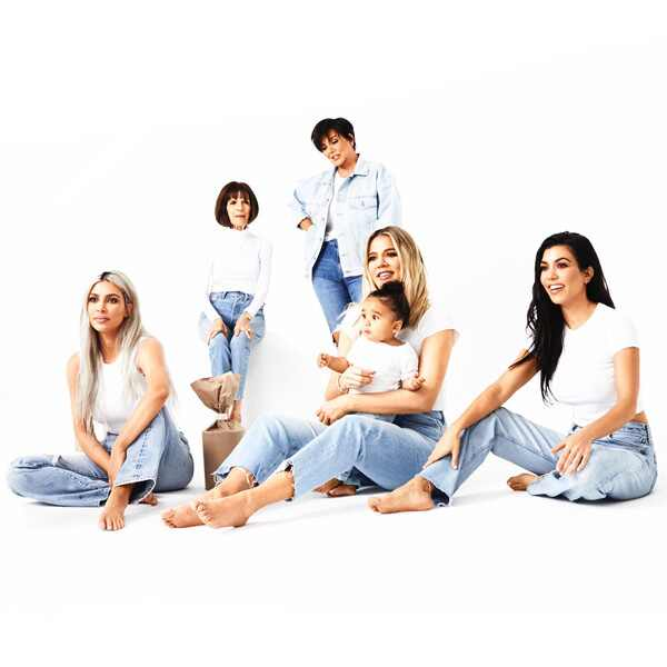 2017 Kardashian Christmas Card