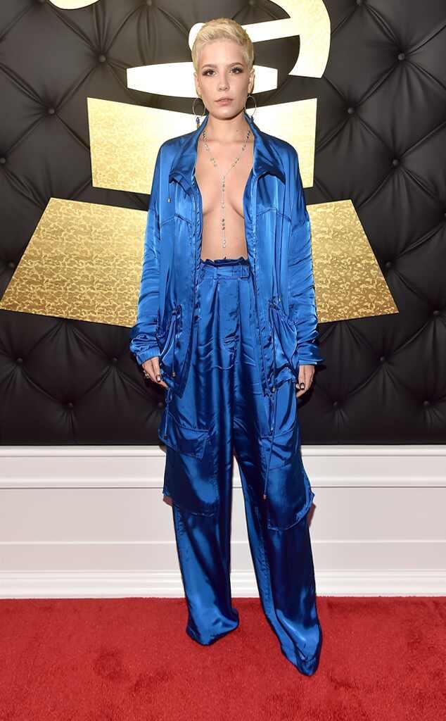 Halsey 2017 Grammys Arrivals