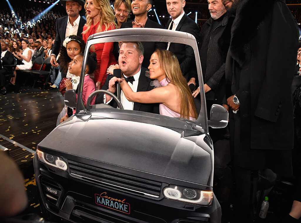 James Corden, Jennifer Lopez, Carpool Karaoke, 2017 Grammy Awards