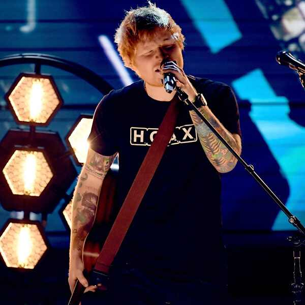 Ed Sheeran, 2017 Grammys, Show, Performance