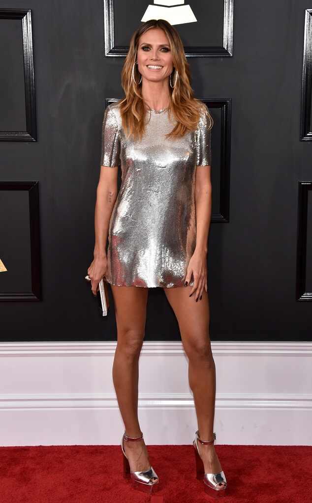 Heidi Klum, 2017 Grammys, Arrivals