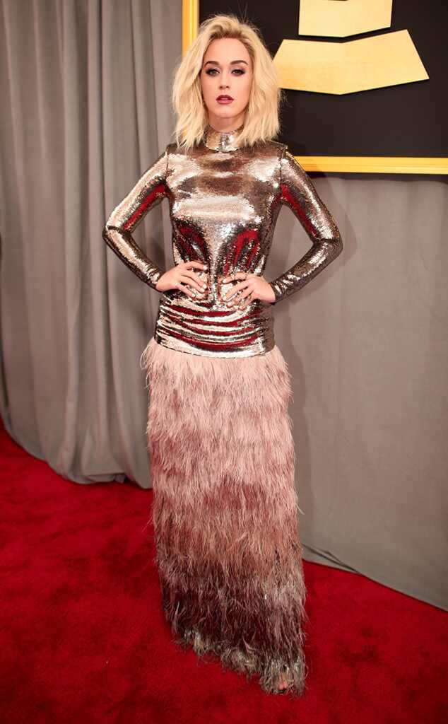 Katy Perry 2017 Grammys Arrivals