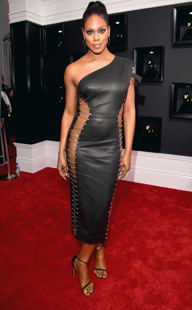 Laverne Cox, 2017 Grammys, Arrivals