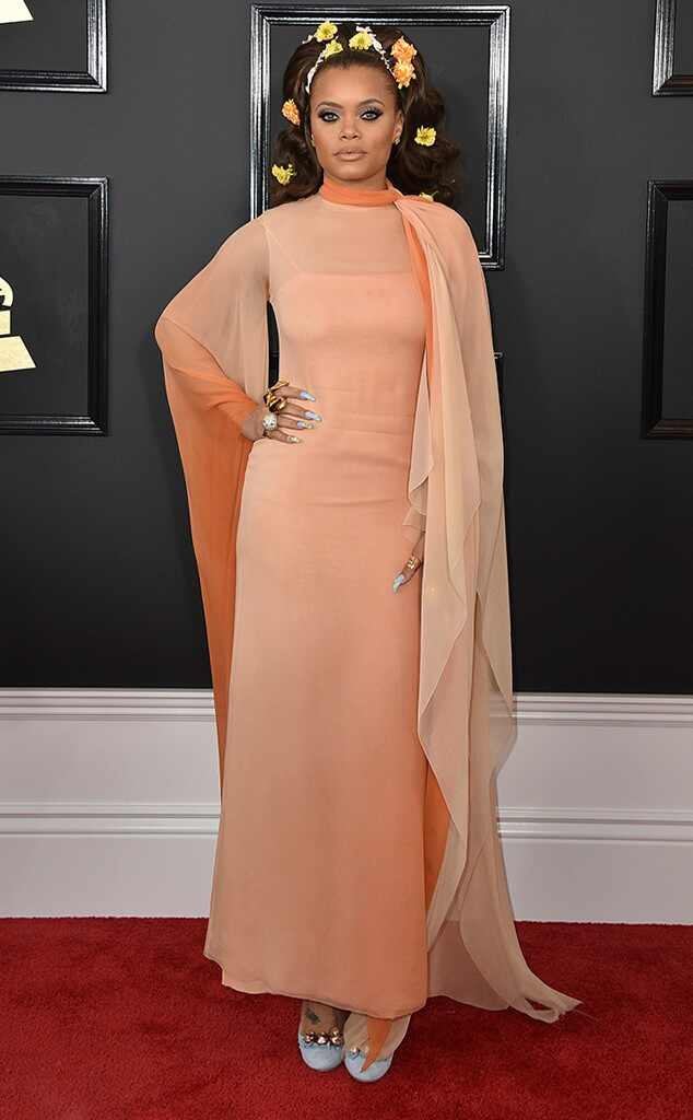 Andra Day, 2017 Grammys, Arrivals