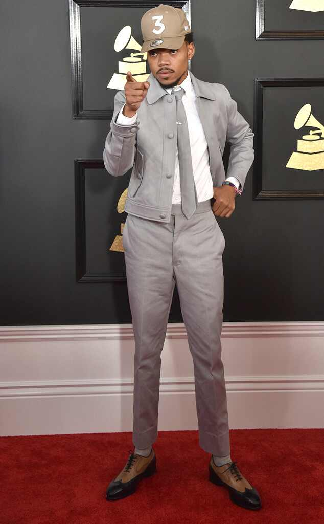 Chance The Rapper, 2017 Grammys, Arrivals