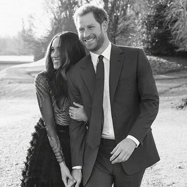 Meghan Markle's Engagement Portrait Look: All the Details ...