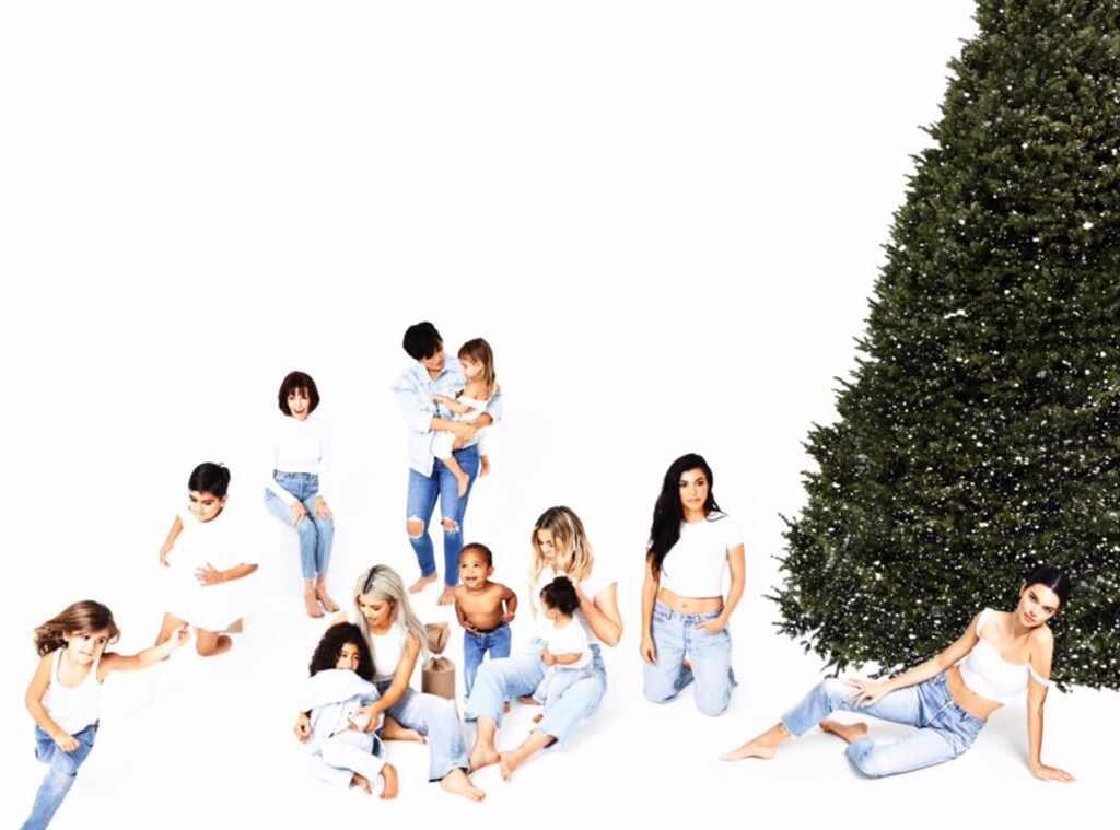 Kim Kardashian, Christmas, Card, Christmas Card, Day 24, 2017 Kardashian Christmas Card Day 24