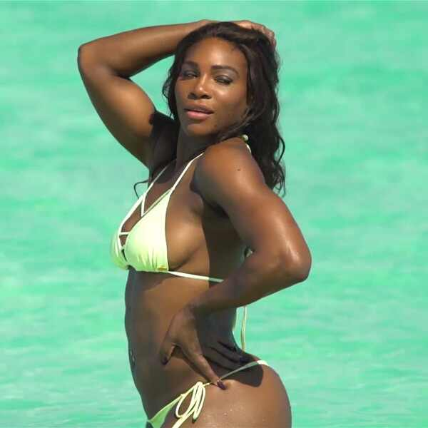 Serena williams in skimpy bikini pictures fuck her Ass