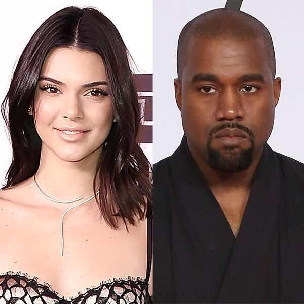 Kendall Jenner, Kanye West