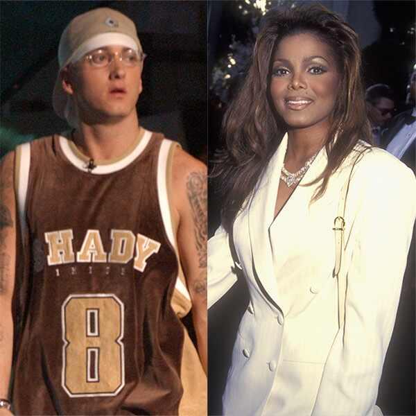 Leann Rimes, Eminem, Janet Jackson