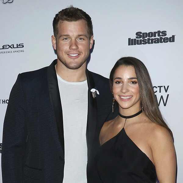 Colton Underwood, Aly Raisman