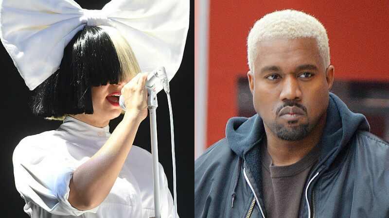 Sia, Kanye West