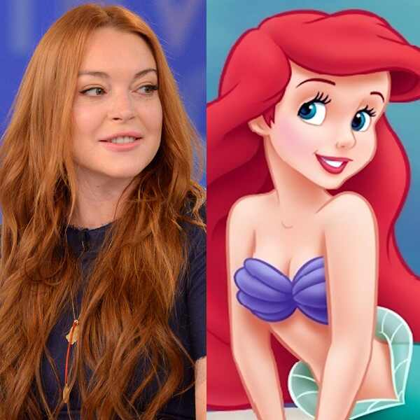 Lindsay Lohan, The Little Mermaid