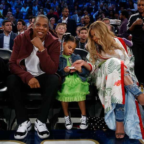 Jay Z, Beyonce, Blue Ivy