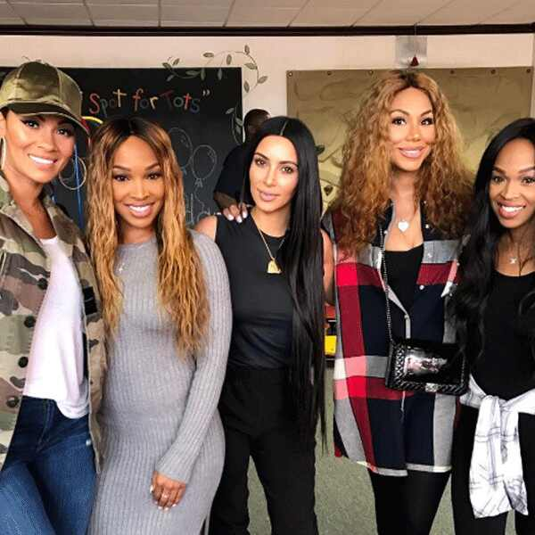Kim Kardashian, Tamar Braxton, Evelyn Lozada, Khadijah Haqq McCray, Malika