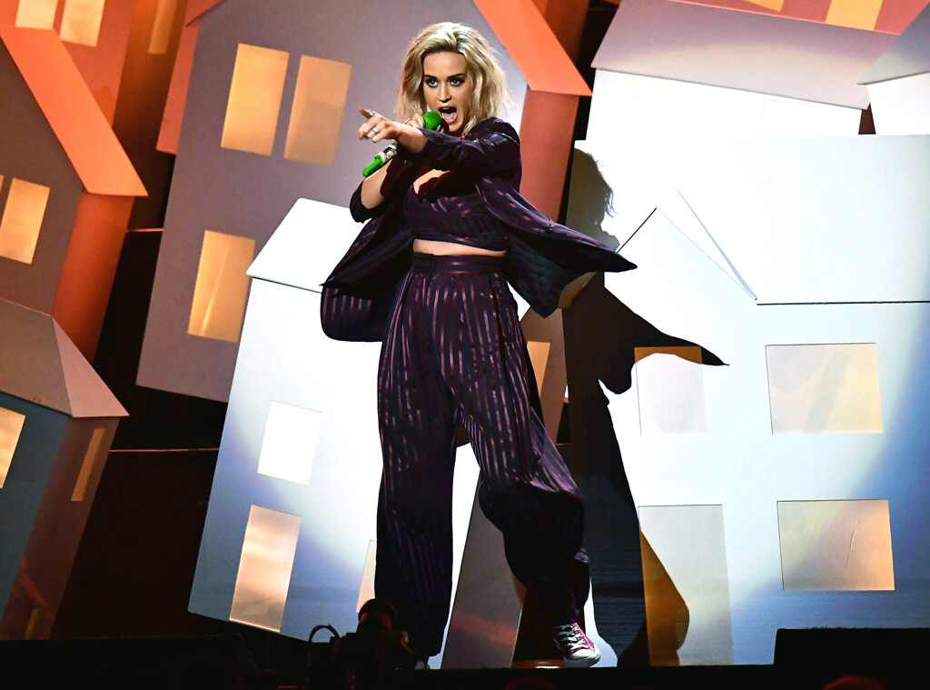 Katy Perry, 2017 BRIT Awards