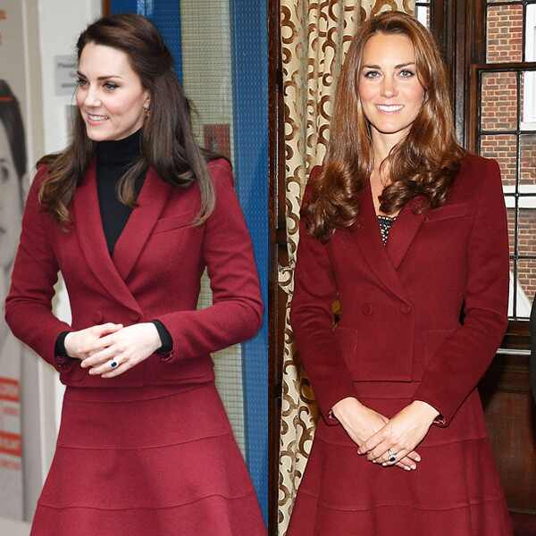 Kate Middleton, Recycled Outfit