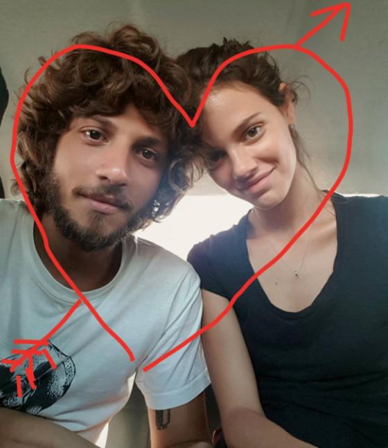 Chay Suede, Laura Neiva, Instagram