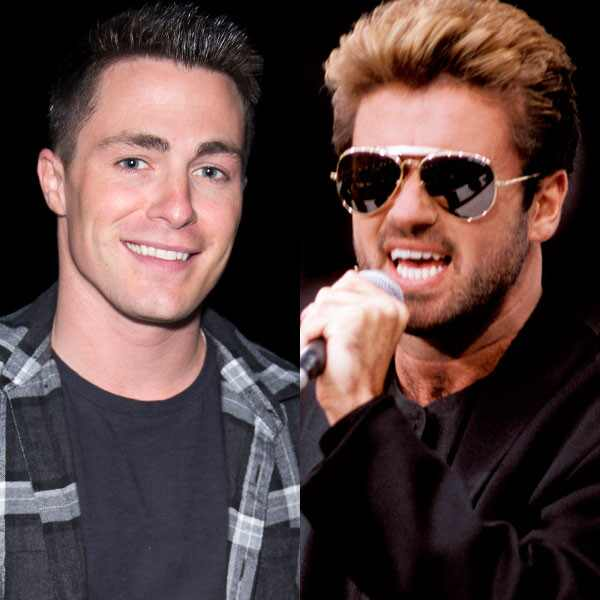 Colton Haynes, George Michael
