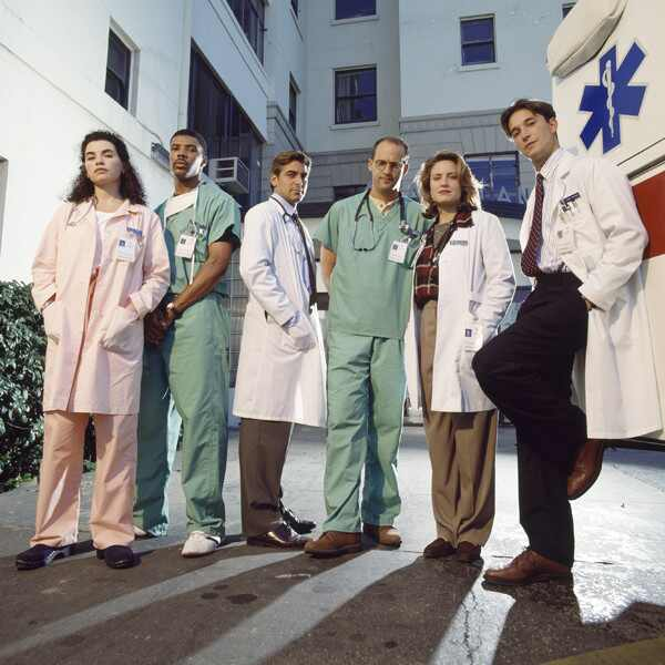 E.R., Cast, Julianna Marguilies, George Clooney