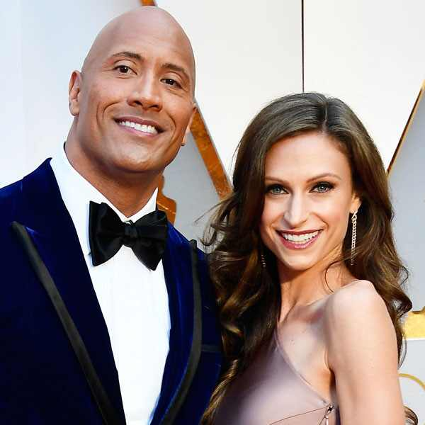 Dwayne Johnson, Lauren Hashian, 2017 Oscars, Academy Awards, Couples