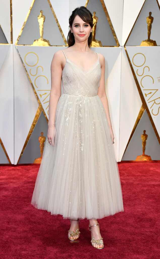 Felicity Jones, 2017 Oscars, Academy Awards, Arrivals